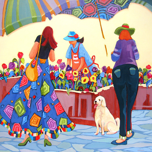 Pick Me - painting by Carolee Clark