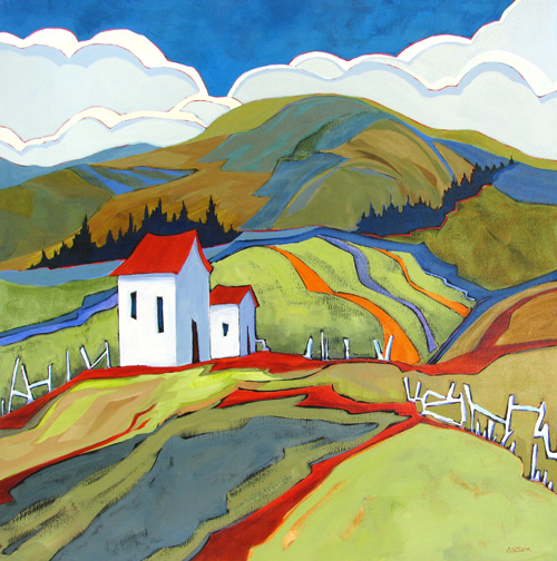 Wanderers Welcome - painting by Carolee Clark