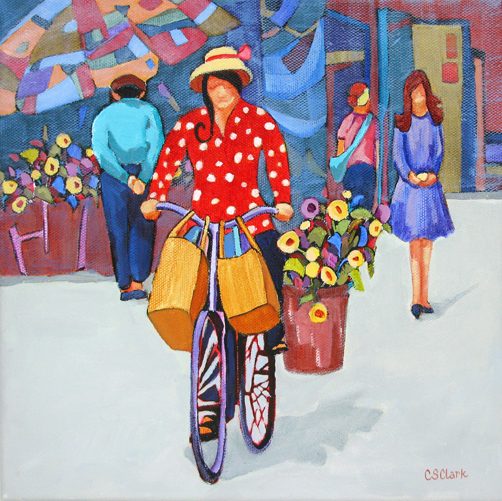 Jam Packed - painting by Carolee Clark
