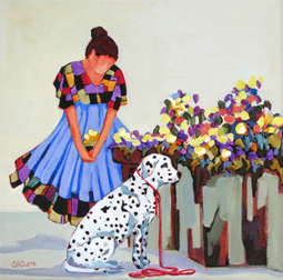 """Patience"" painting by Carolee Clark"