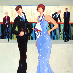 """She's the One"" painting by Carolee Clark"